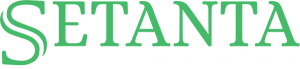 Setanta Asset Management Logo dark background