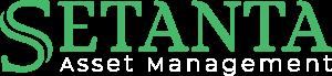 Setanta Asset Management Logo dark background